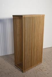 Beisteltisch aus Latten